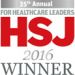 HSJ Awards 2016 Winner
