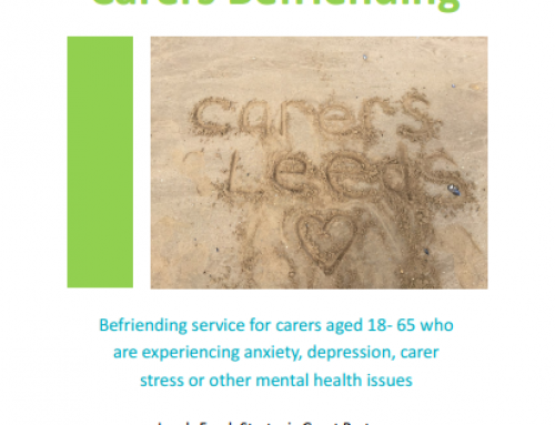 New project update: Carers befriending