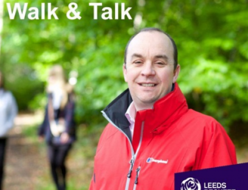 Val gets put through her paces by Leeds Beckett in this walk and talk podcast