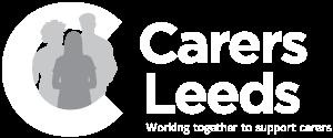 Carers Leeds Logo Small White