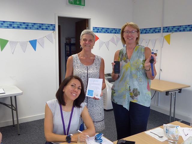 Carers enjoyed a tech filled coffee morning today with the team from ACTIVAGE project – learning how technology can help you or someone you care for live more for longer https://www.carersleeds.org.uk/event/activage-information-coffee-morning/