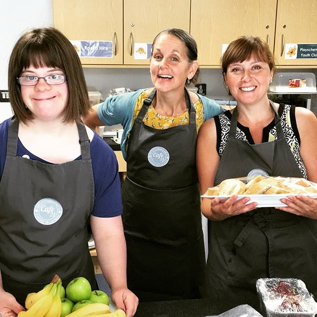 We love a good third sector collaboration in. Today we're delighted to be working in with @cafe21_sunsmile at Leeds Mencap for our parent family fun day