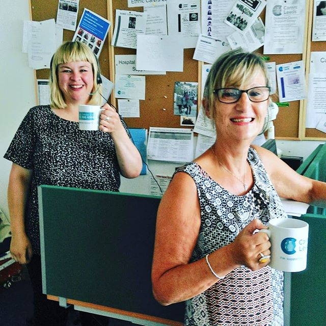 This morning's expert support workers on advice line are Jo and Trish. Give them a call on 0113 380 4300 to ask anything about your caring role.