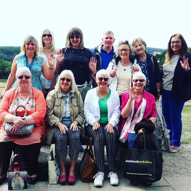 A group of carers joined us today for a stroll around Yorkshire sculpture park. Lovely way to take a much needed break from caring.