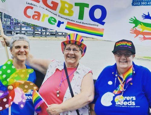 Volunteer pride @ Leeds Pride