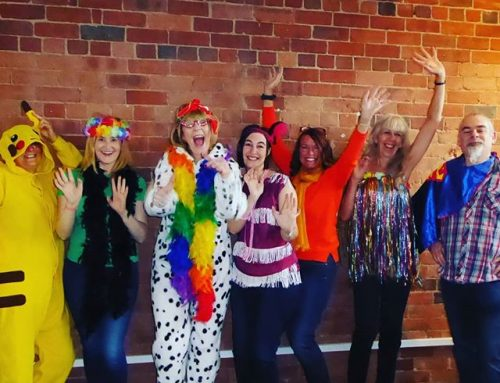 It's @global day and we are dressing loud to make noise for @yacarers_leeds