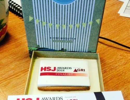 Not your usual office mail! Thanks @hsj_awards :)