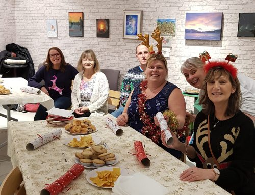 Festive fun in the community hub