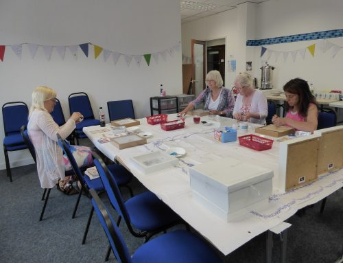 Crafty carers group