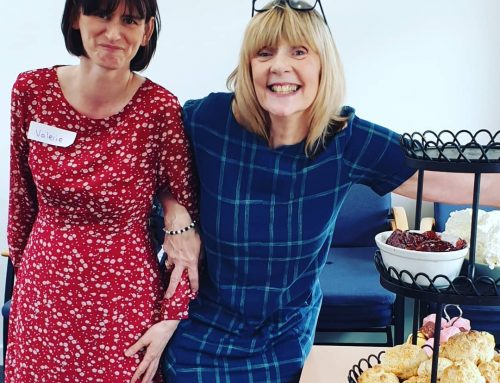Huge thank you to this dream team (Valerie and Val) for making our celebration perfect for each of our brill volunteers
