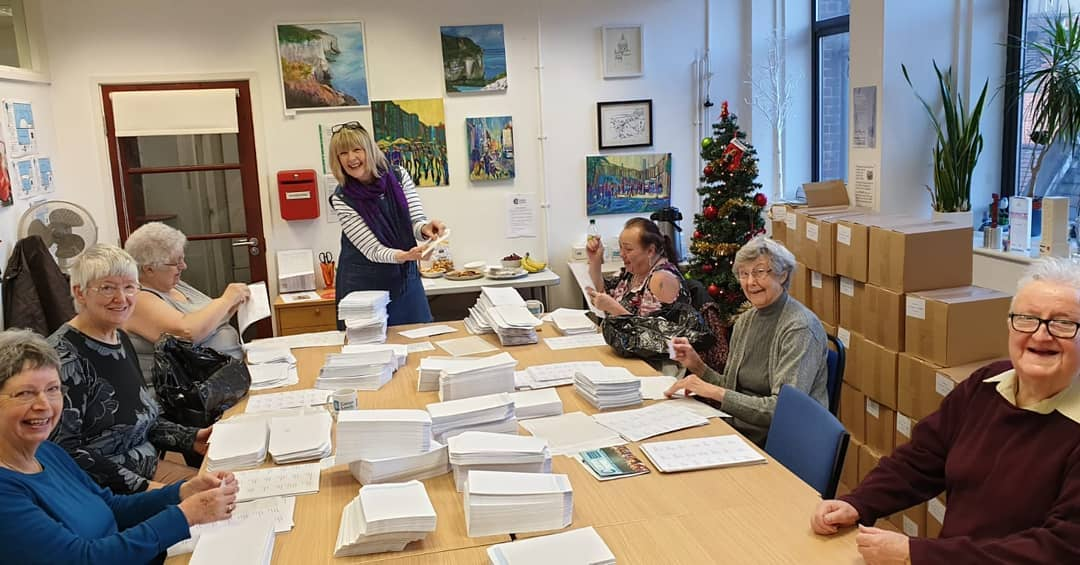 Caring doesn't stop for Christmas so to keep you informed, connected and supported, our fab volunteers are currently addressing over 10,000 envelopes to ensure you get the next Carers News. To get your copy, visit our website.