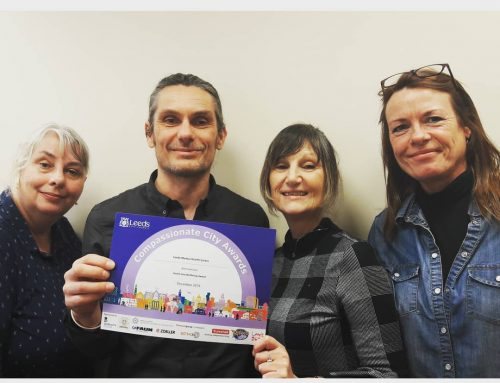 Did we mention that our awesome mental health team were nominated for a compassionate city award? Well done team!