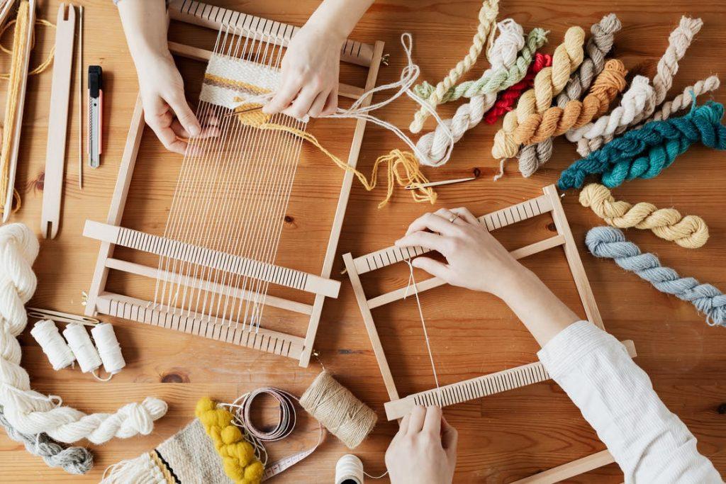 Arts Craft Weaving